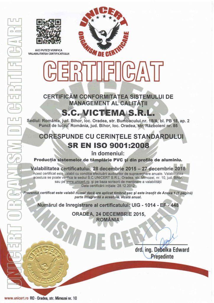 SR EN ISO 9001.2008